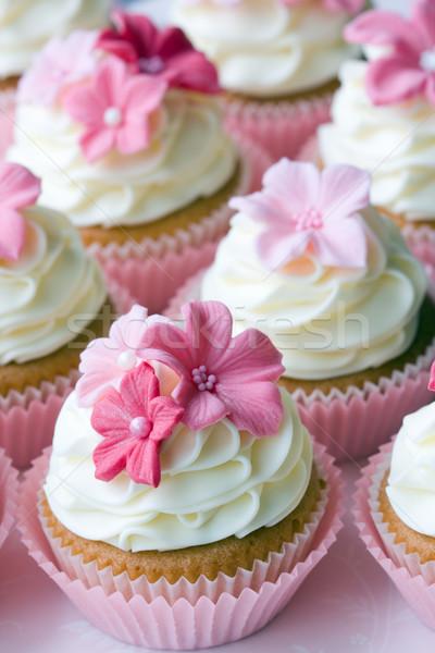 Wedding cupcakes Stock photo © RuthBlack