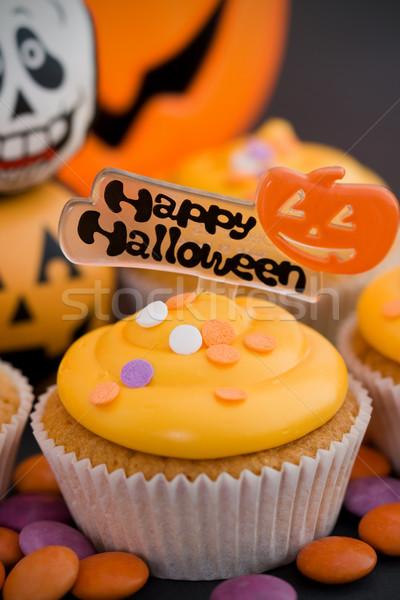 Halloween heureux décoré orange fête Photo stock © RuthBlack