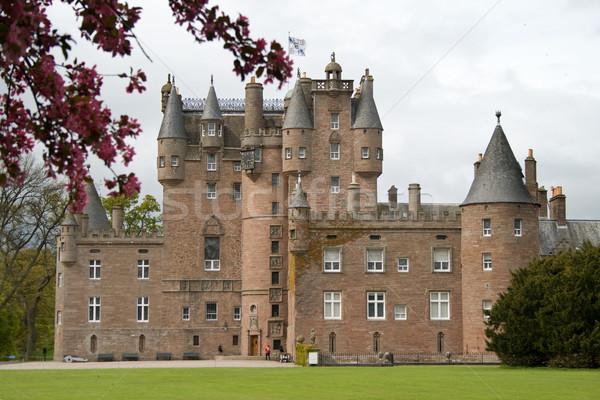 Château Écosse enfance maison fin reine Photo stock © RuthBlack