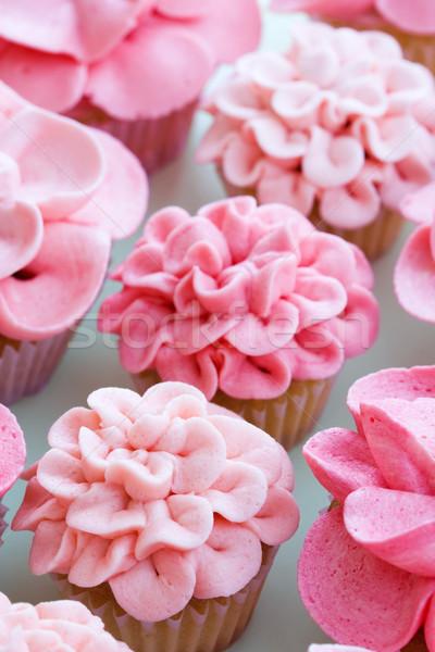 Flower cupcakes Stock photo © RuthBlack