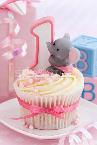 Baby's first birthday Stock photo © RuthBlack