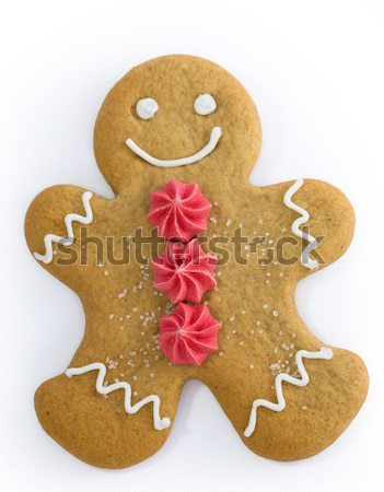 Gingerbread couple Stock photo © RuthBlack