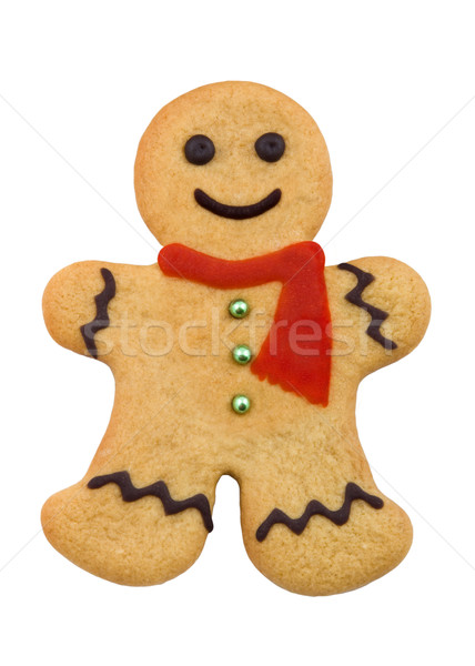 Gingerbread man Stock photo © RuthBlack