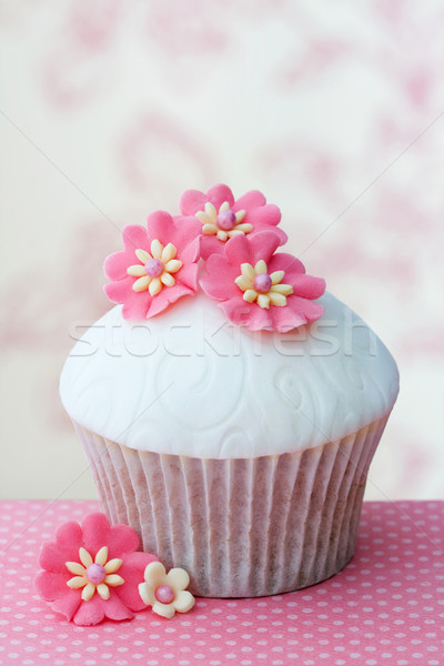 Flower cupcake Stock photo © RuthBlack