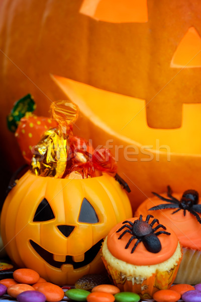 Halloween alimentare party Foto d'archivio © RuthBlack