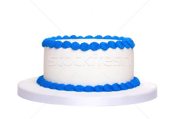 Gâteau d'anniversaire prêt décoration alimentaire fête anniversaire Photo stock © RuthBlack