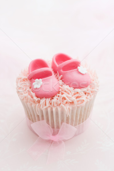 Cupcake for a little girl Stock photo © RuthBlack