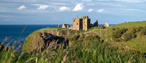 城 スコットランド 遺跡 夏 石 ストックフォト © RuthBlack
