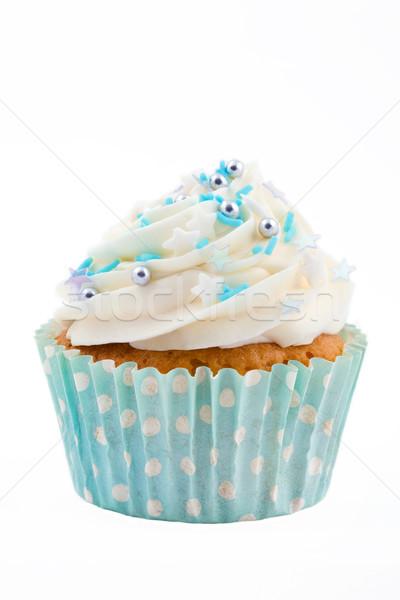Blue cupcake Stock photo © RuthBlack