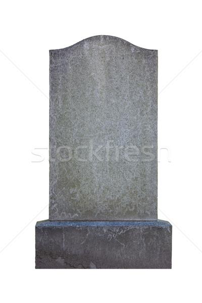 Blank gravestone Stock photo © RuthBlack