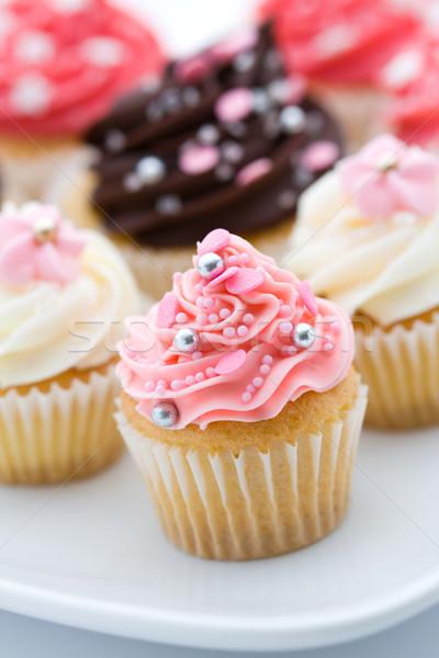 Cupcake assortment Stock photo © RuthBlack