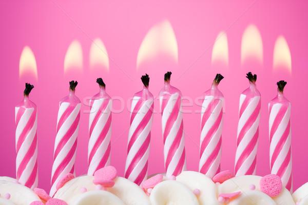 Birthday candles Stock photo © RuthBlack