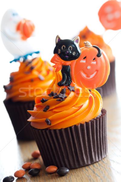 Halloween décoré fête orange amusement Photo stock © RuthBlack