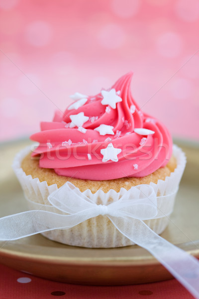 Pink cupcake Stock photo © RuthBlack