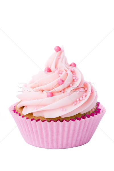 Pink cupcake Stock photo © RuthBlack