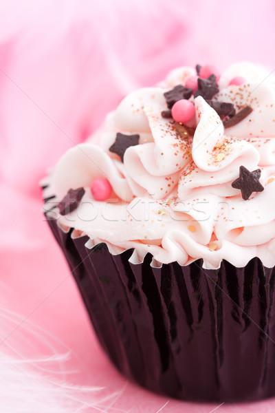 ストックフォト: パーティ · 装飾された · 食用 · グリッター · デザート