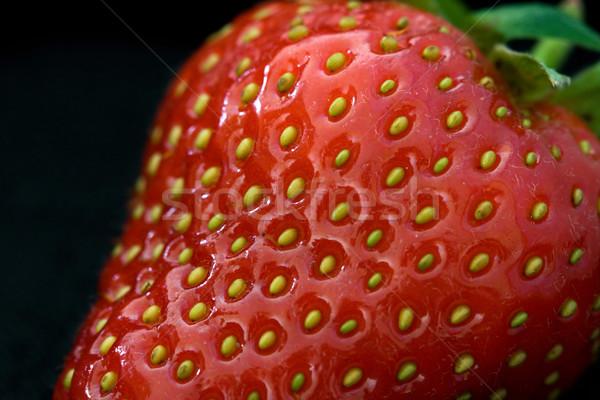Fraise fraîches juteuse fruits sweet Photo stock © RuthBlack