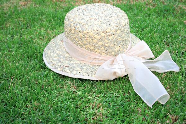 Hat on the grass Stock photo © ruzanna