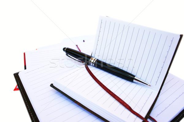 Pen and notebooks Stock photo © ruzanna