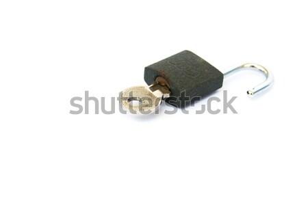 Lock and key Stock photo © ruzanna