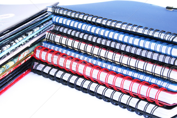 Copybook stacks Stock photo © ruzanna