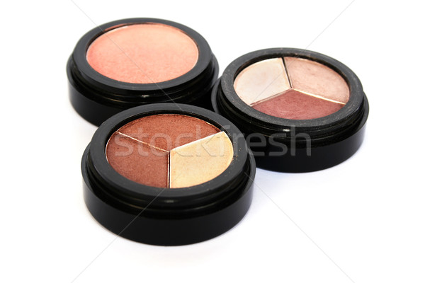Eye shadows and blush Stock photo © ruzanna