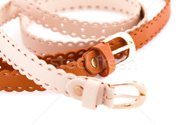 Stylish belts Stock photo © ruzanna