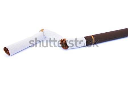Broken cigarette Stock photo © ruzanna