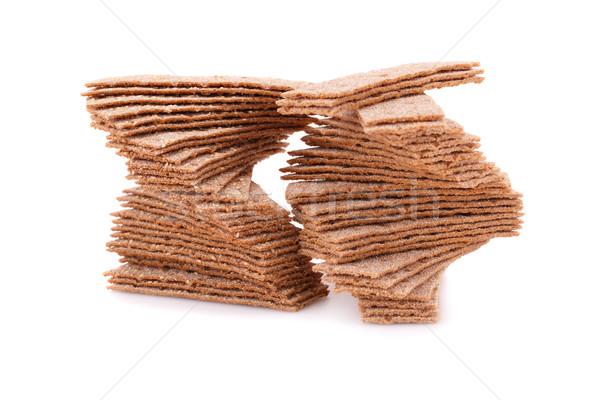 изолированный белый группа хлеб свежие Сток-фото © ruzanna