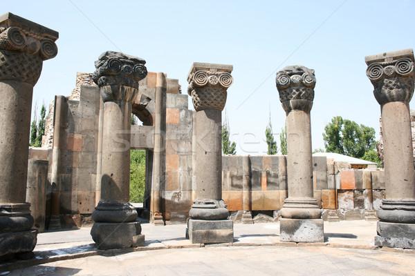 Catedral ruínas Armênia unesco mundo herança Foto stock © ruzanna