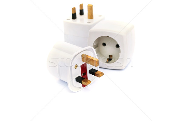 Power adapter plugs Stock photo © ruzanna