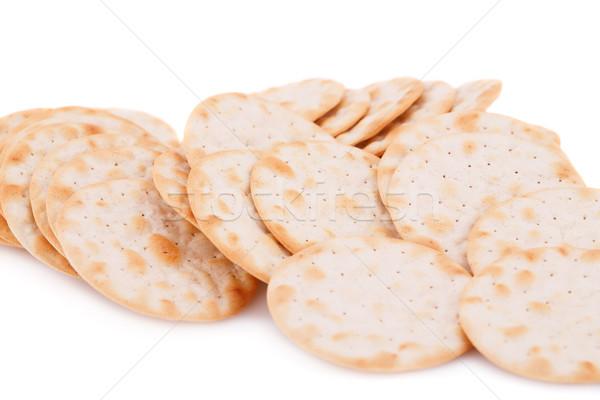 Isolado branco pão fresco grão Foto stock © ruzanna