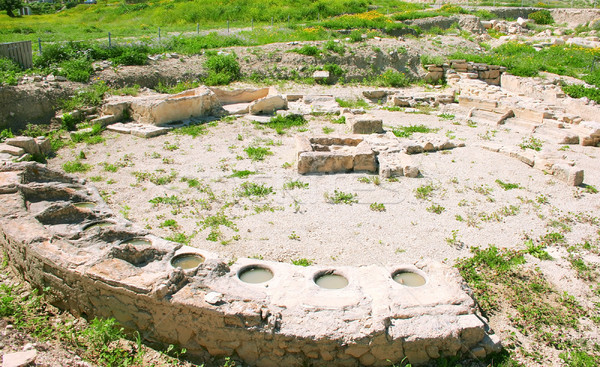 Amathus ruins Stock photo © ruzanna