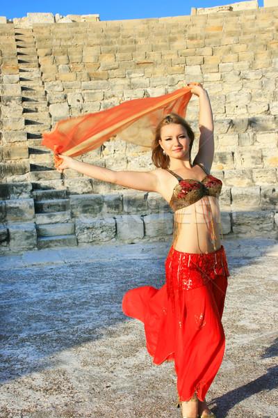 Belly dancer Stock photo © ruzanna