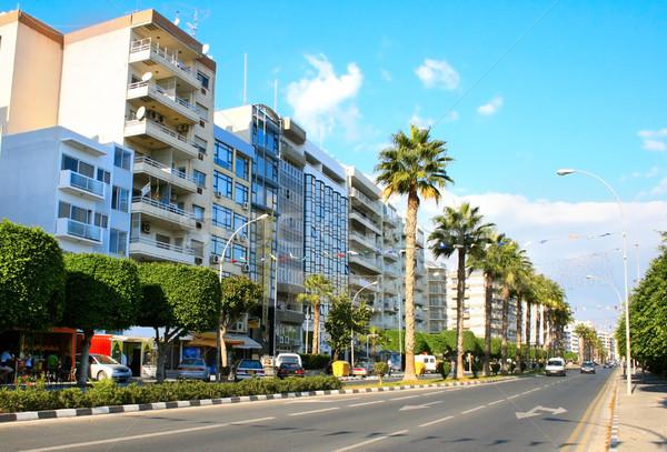 Limassol street Stock photo © ruzanna