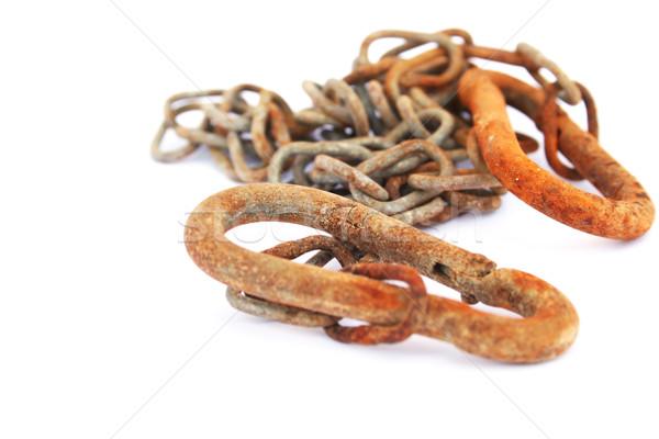 Rusty chain Stock photo © ruzanna