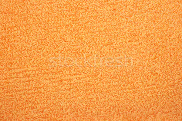 Törölköző textúra narancs tengerpart absztrakt fény Stock fotó © ruzanna
