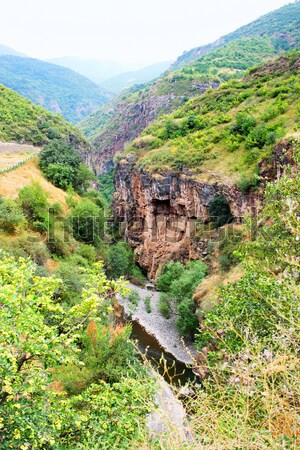 Paysage vue altitude Arménie ciel eau Photo stock © ruzanna