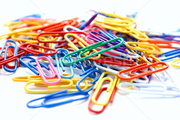 Paper clips Stock photo © ruzanna