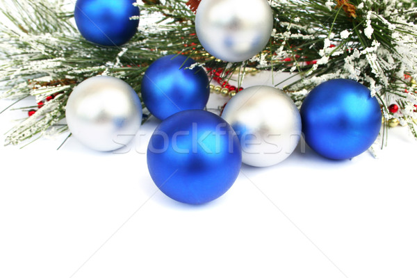 Christmas balls Stock photo © ruzanna
