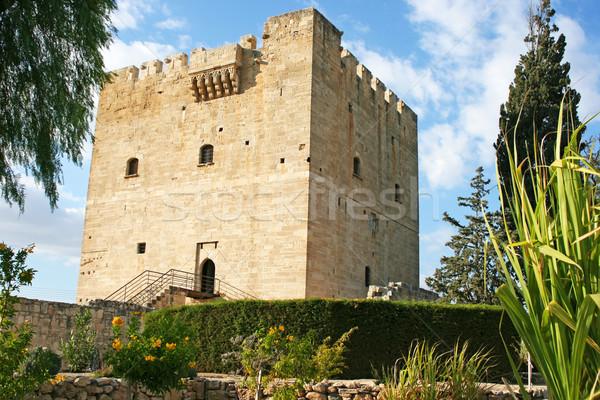Kolossi castle in Cyprus Stock photo © ruzanna