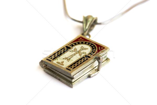 Holy Bible medallion Stock photo © ruzanna