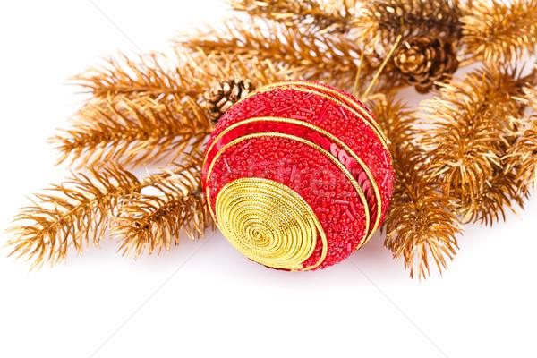 Рождества мяча украшение филиала Сток-фото © ruzanna