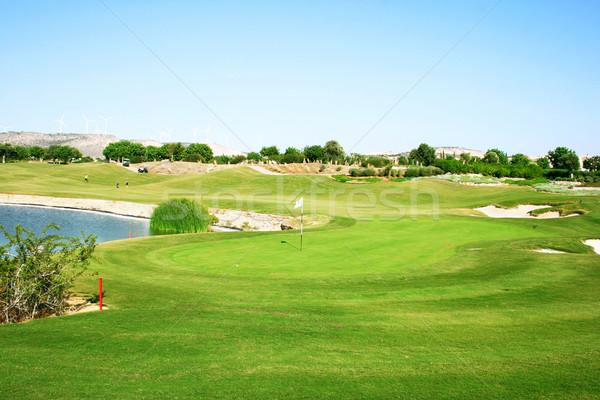 Golf field Stock photo © ruzanna