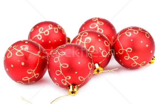 Navidad aislado blanco invierno pelota Foto stock © ruzanna