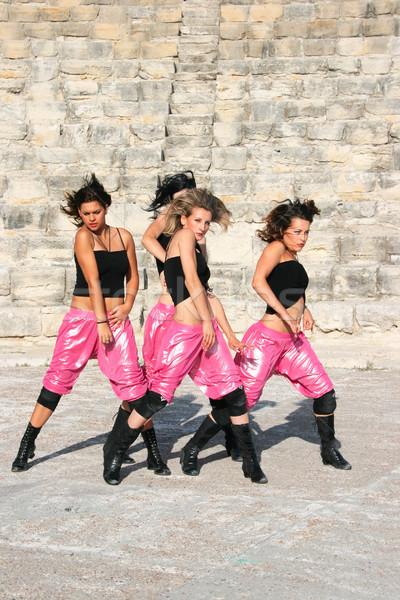 Modern dancers Stock photo © ruzanna