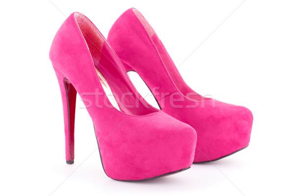 Pink shoes Stock photo © ruzanna