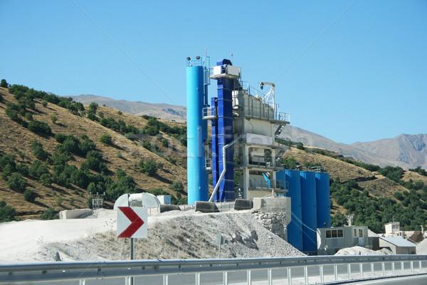 Concrètes mixeur plantes Turquie travaux technologie Photo stock © ruzanna