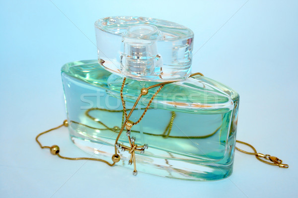 Perfume and jewels Stock photo © ruzanna