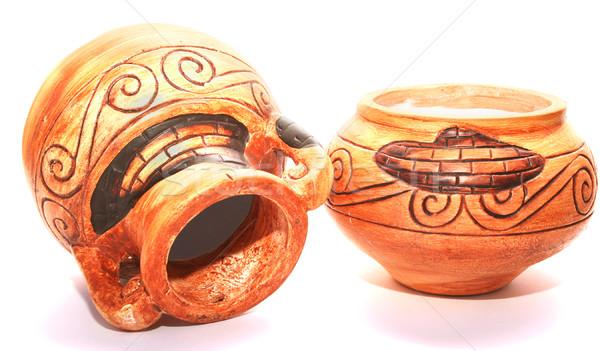 Cyprus vases Stock photo © ruzanna